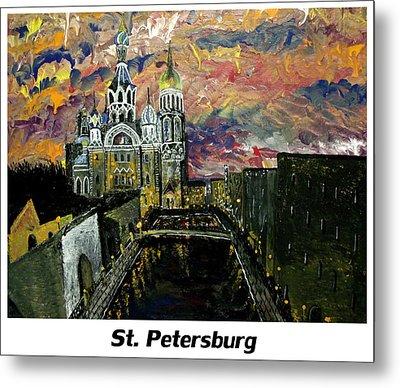 St  Petersburg Metal Print by Mark Moore