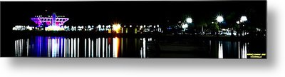 St. Petersburg Pier Panorama Metal Print