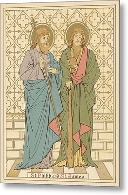 St Philip And St James Metal Print by English School