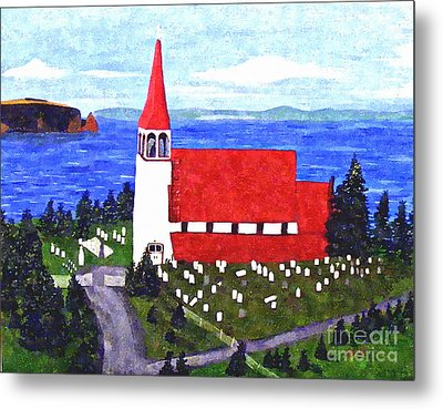 St. Philip's Church Metal Print by Barbara Griffin