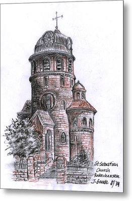St. Sebastian Church Metal Print