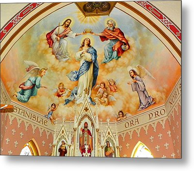 St. Stanislaus Church Metal Print