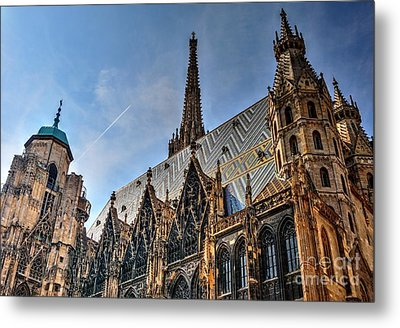 Metal Print featuring the photograph St. Stephen's Cathedral by Joe  Ng