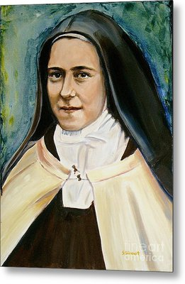 St. Therese Metal Print by Sheila Diemert