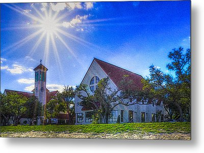 St Thomas Catholic Church Metal Print