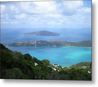 St-thomas Virgin Islands Usa Metal Print by Danielle  Parent