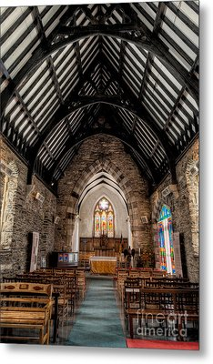 St Tudcluds Church Metal Print by Adrian Evans