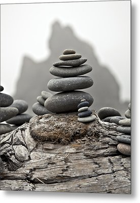 Metal Print featuring the photograph Stacked by Kjirsten Collier