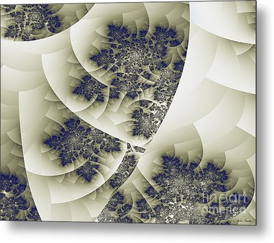 Metal Print featuring the digital art Stactal The Fractal by Arlene Sundby