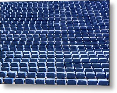 Stadium - Seats Metal Print