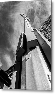 Metal Print featuring the photograph Stadium Lights by Rhys Arithson