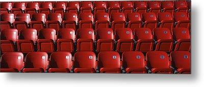 Stadium Seats Metal Print by Panoramic Images