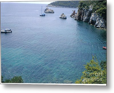 Stafylos Beach Metal Print by Katerina Kostaki