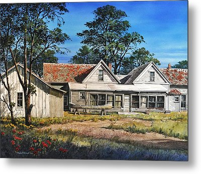 Stage Stop In Cresson Tx Metal Print