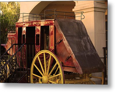 Stagecoach Metal Print