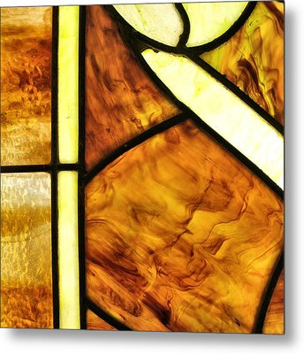 Stained Glass 2 Metal Print by Tom Druin