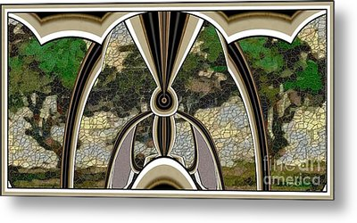 Stained Glass Collage Sgc1 Metal Print by Pemaro