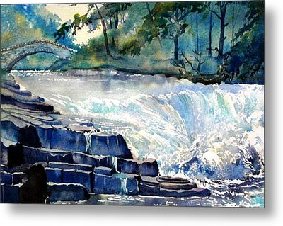 Stainforth Foss Metal Print