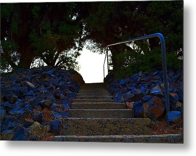 Metal Print featuring the photograph Stair Way To Heaven  by Naomi Burgess