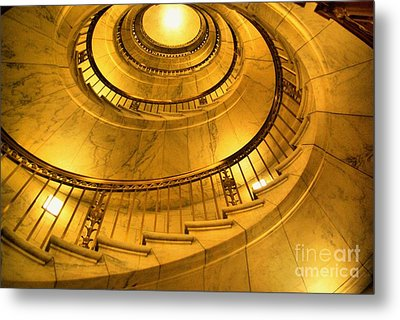 Stair Way To Justice Metal Print by John S