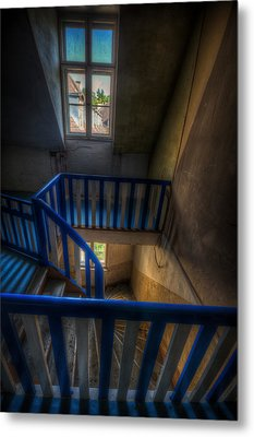 Staircase Blues  Metal Print by Nathan Wright