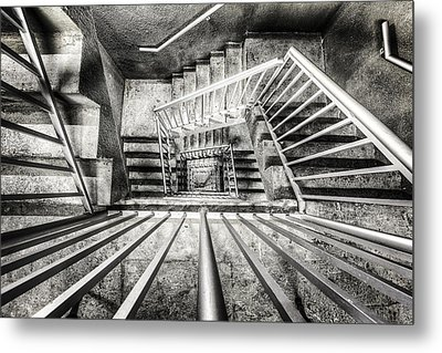 Staircase I Metal Print by Everet Regal