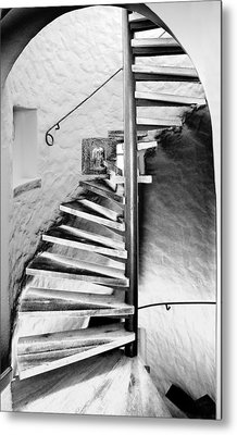 Staircase - Spiral Metal Print by Robert Culver