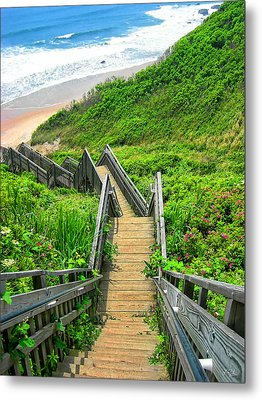 Staircase To Gem Metal Print by Lourry Legarde