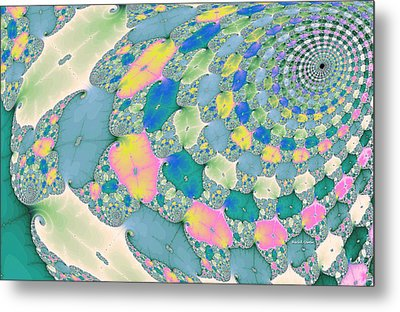 Staircase To Heaven Metal Print by Angela A Stanton