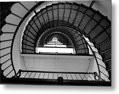 Metal Print featuring the photograph Stairs by Andrea Anderegg