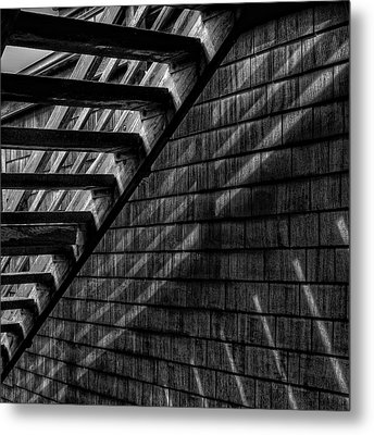 Metal Print featuring the photograph Stairs by David Patterson
