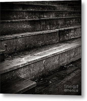 Stairs Infinity Metal Print by Charmian Vistaunet