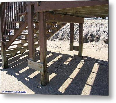 Stairs To The Beach Metal Print