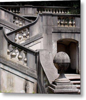 Stairway At Winterthur Metal Print