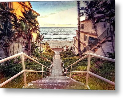 Stairway To Heaven Metal Print by Ann Patterson