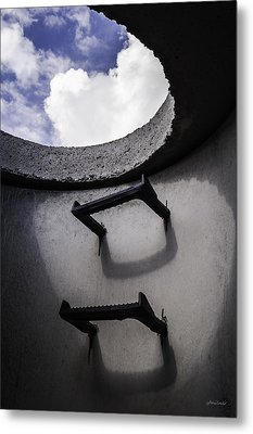 Metal Print featuring the photograph Stairway To Heaven - Inside Out by Steven Milner