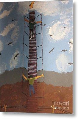 Stairway To Heaven Metal Print by Jeffrey Koss