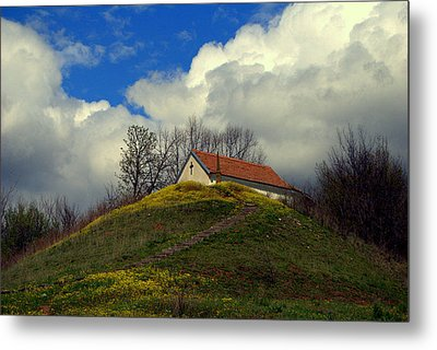 Metal Print featuring the photograph Stairway To Heaven by Ljubisa Milisavljevic