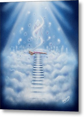 Stairway To Heaven Metal Print by Nickie Bradley
