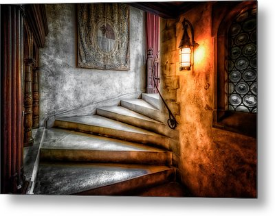 Stairway To My Heart Metal Print by Linda Karlin