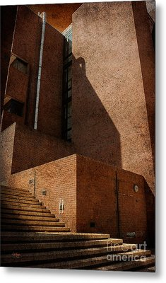 Metal Print featuring the photograph Stairway To Nowhere by Lois Bryan
