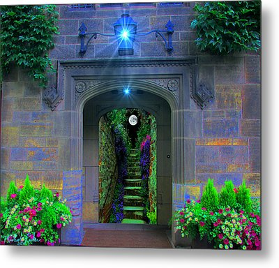 Stairway To Paradise  Metal Print by Michael Rucker