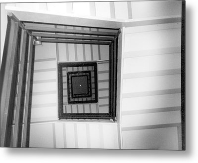 Stairwell Metal Print by Tarey Potter