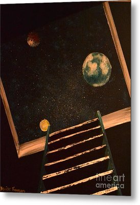 Stairwell To Heaven Metal Print