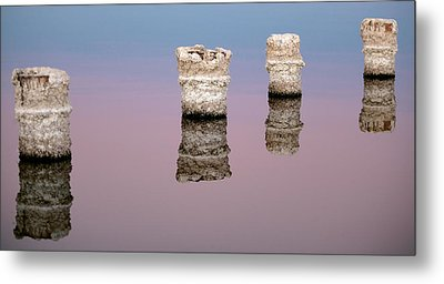 Stand In Line Metal Print