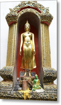 Standing Buddha Metal Print by Gregory Smith