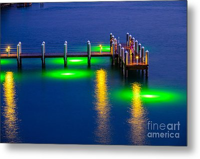 Standing On The Dock Of The Bay Metal Print