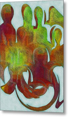 Standing Ovation 2 Metal Print by Jack Zulli