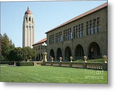 Stanford University Palo Alto California Hoover Tower Dsc685 Metal Print