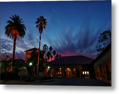 Stanford University Quad Sunset Metal Print by Scott McGuire